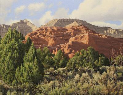 Garrett Middaugh, 'Cliffs of Kodachrome Basin'