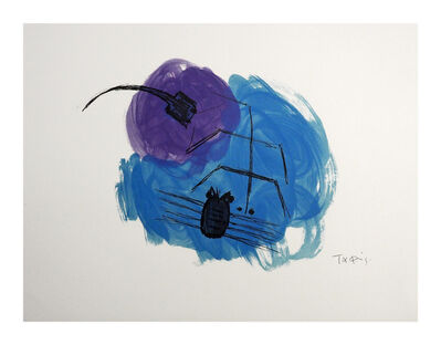 Takis, 'Insectes', 1981