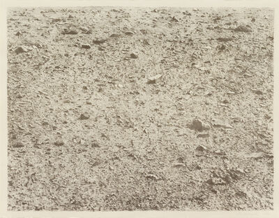 Vija Celmins, 'Untitled (Large Desert)', 1971