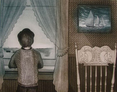 David Blackwood, 'The Flora S. Nickerson Coming Home from the Labrador ', 1979