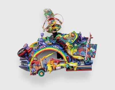 Kenny Scharf, 'Rainbow Truckin'', 2019