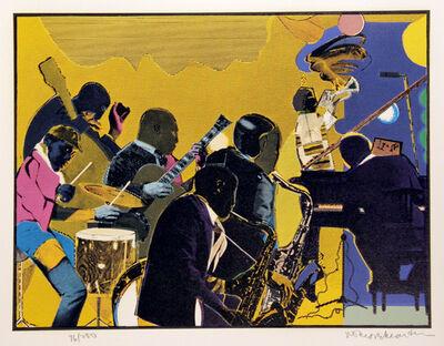 Romare Bearden, 'Out Chorus', 1979