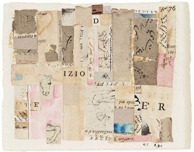 Lenore Tawney, 'Izio', 1984