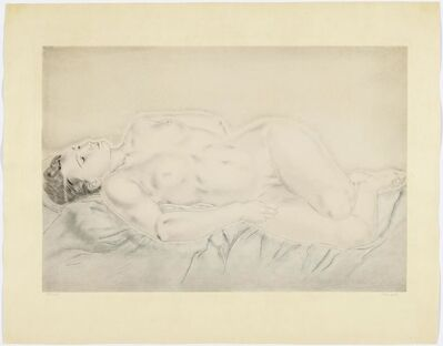 Léonard Tsugouharu Foujita, 'Nu étendu', 1930