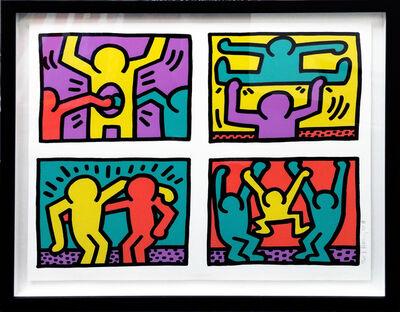 Keith Haring, 'POP SHOP QUAD I', 1987