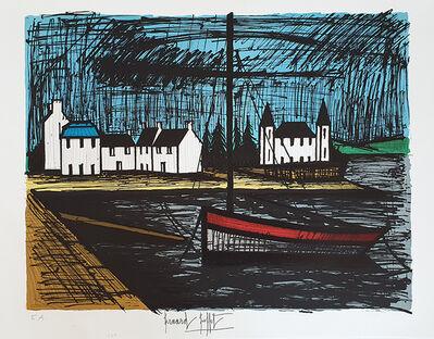 Bernard Buffet, 'Barque a Lomener', 1982