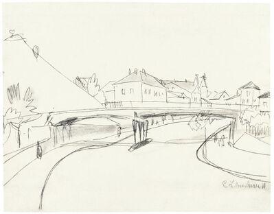 Ernst Ludwig Kirchner, 'Brücke über den Fluss', 1910