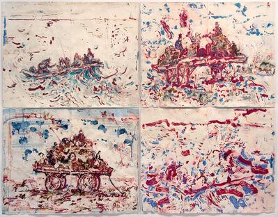 David Scher, 'Manure Wagon of the Stars / Still Raft', 2016