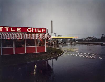 Paul Graham, 'Little Chef in Rain, St. Neots, Cambridgeshire, May', 1982