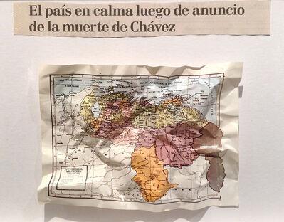 Marco Montiel-Soto, 'El país en calma luego de anuncio de la muerte de Chávez', 2015