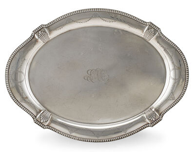 Reed & Barton, 'Reed & Barton Sterling Silver Serving Tray', 20th c.