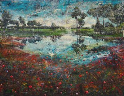 Jernej Forbici, 'Lake with red mud',