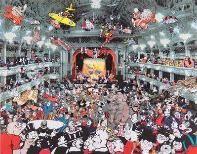 Peter Blake, 'Marcel Duchamp's World Tour – DC Thomson Reunion at the Tower Ballroom Blackpool ', 2016
