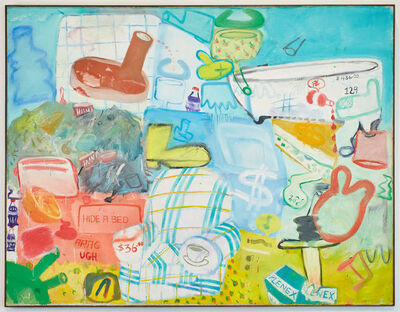 Peter Saul, 'Master Room (Hide a Bed)', 1961