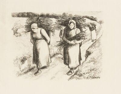 Camille Pissarro, 'Porteuses de fagots (Delteil 153)', 1896