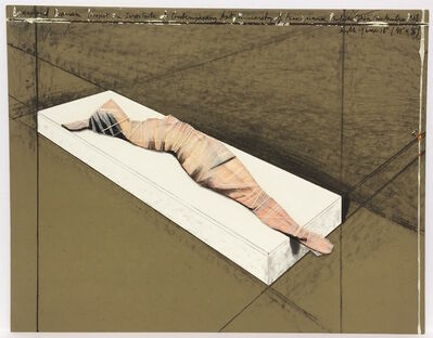 Christo and Jeanne-Claude, 'Wrapped Woman', 1997