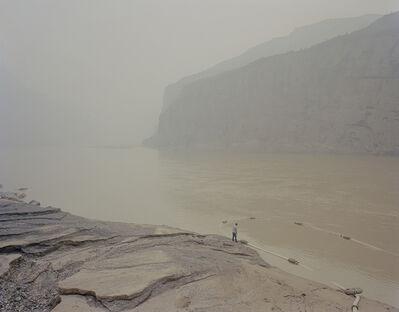 Zhang Kechun, 'Fishing battlefield 捞沙场', 2015