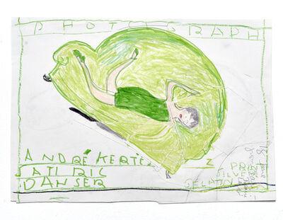 Rose Wylie, 'Andre Kertesz, Satiric Danser', 2016