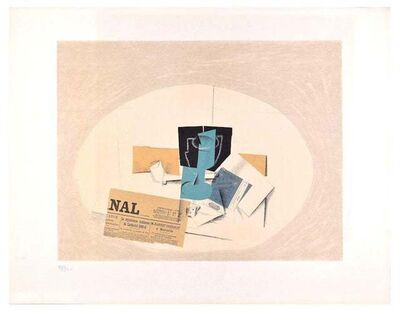 Georges Braque, 'Still Life', 1956