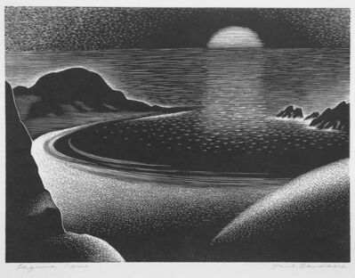 Paul Landacre, 'Laguna Cove', 1941