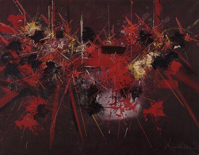 Georges Mathieu, 'Regard de flamme', ca. 1980
