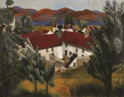 Moise Kisling, 'Paysage De Provence, 1917, Oil on canvas, 72X93 cm. Signed. ', 1917