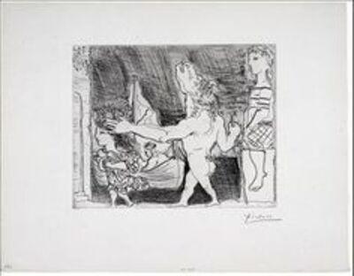 Pablo Picasso, 'Minotour aveugle guide par une fillette, II', 1934