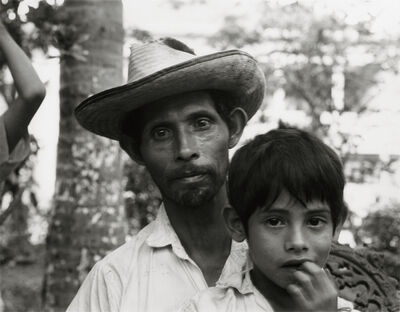 Danny Lyon, 'A Man and his son, Tamazunchale', 1973
