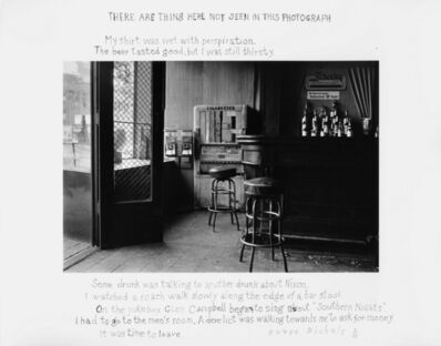 Duane Michals, 'There Are Things Here Not Seen in This Photograph', 1977