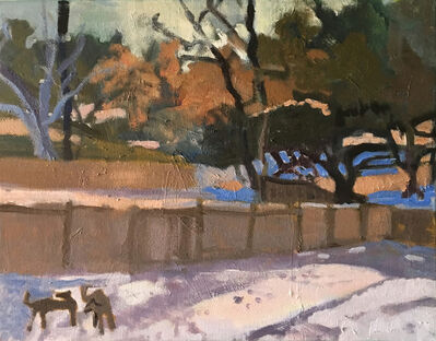 Suzanne Guppy, 'Snow in the Lowcountry', 2018