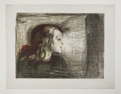 Edvard Munch, 'The Sick Child. I', 1896