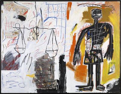 Jean-Michel Basquiat, 'Untitled (Black Figure)', 1982
