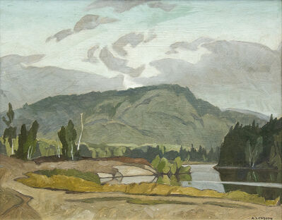 A.J. Casson, 'Early Morning, Goose Lake', 1974