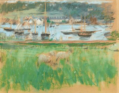 Berthe Morisot, 'Bassin de Port de Fécamp', ca. 1874