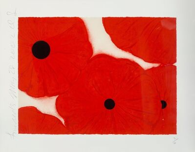 Donald Sultan, 'Five Reds', 2002