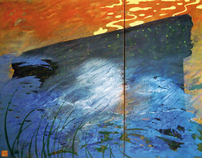Uli Weigelt, 'Dolmen - Diptychon', 2006