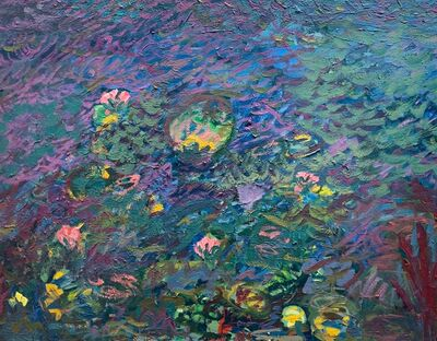 Jerald Mironov, 'Water Lillies', ca. 1985