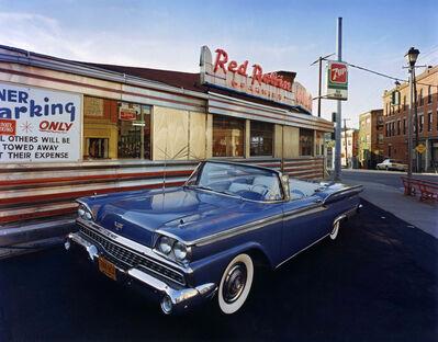 Bruce Wrighton, '1959 Ford Skyliner, Red Robin DIner, Johnson City, NY', 1987