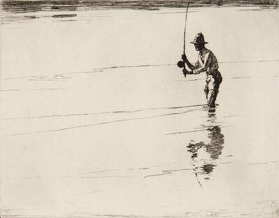 Frank Weston Benson, 'Casting for Salmon', 1929