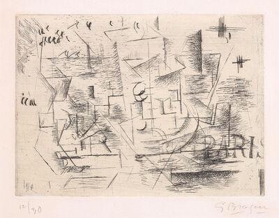 Georges Braque, 'Paris (Paris 1910 ou Nature morte sur une table) (Paris 1910 or Still Life on a Table)', 1910-11/1954