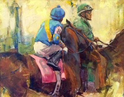Jean-Bernard Lalanne, '8 Horse Going to the Post, Keeneland', Contemporary