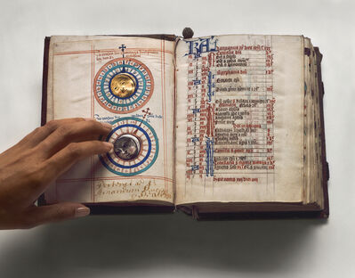 Esther Shalev-Gerz, 'The Open Page - Breviarium for the use of Dominican Nuns', 2009