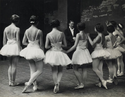 Alfred Eisenstaedt, 'Swan Lake rehearsal at the Paris Opera.', 1932