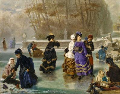 Charles Édouard Boutibonne, 'LE PATINAGE', 1872