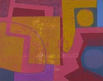 Robert Blackburn, 'Yellow on Red ', 1962