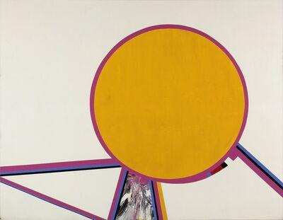 Budd Hopkins, 'Sun Yellow', 1970