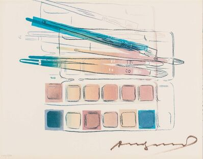 Andy Warhol, 'Watercolor Paint Kit with Brushes', 1982