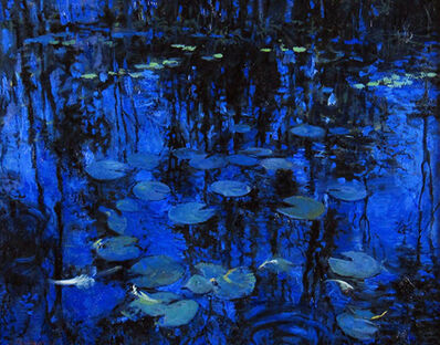 Onelio Marrero, 'Leaves and Lily Pads', ca. 2015