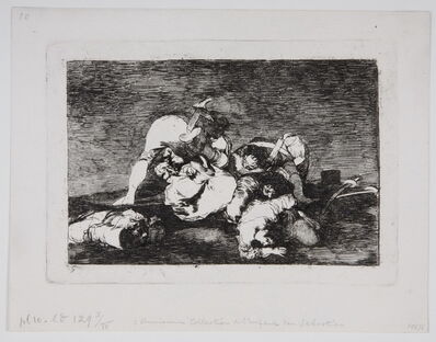 Francisco de Goya, ' Tampoco. - Nor [do these] either.', 1810-1815