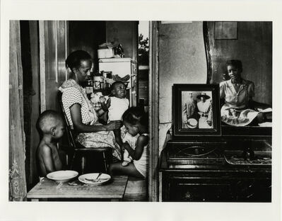 Gordon Parks, 'Ella Watson with Her Grandchildren, Washington, D.C.', 1942